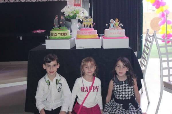 עוגות יום הולדת במועדון פעם בחיים