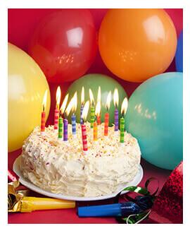 עוגת יום הולדת במועדון פעם בחיים